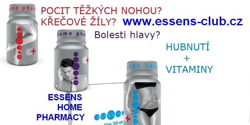 Produkty Essens Home Pharmacy